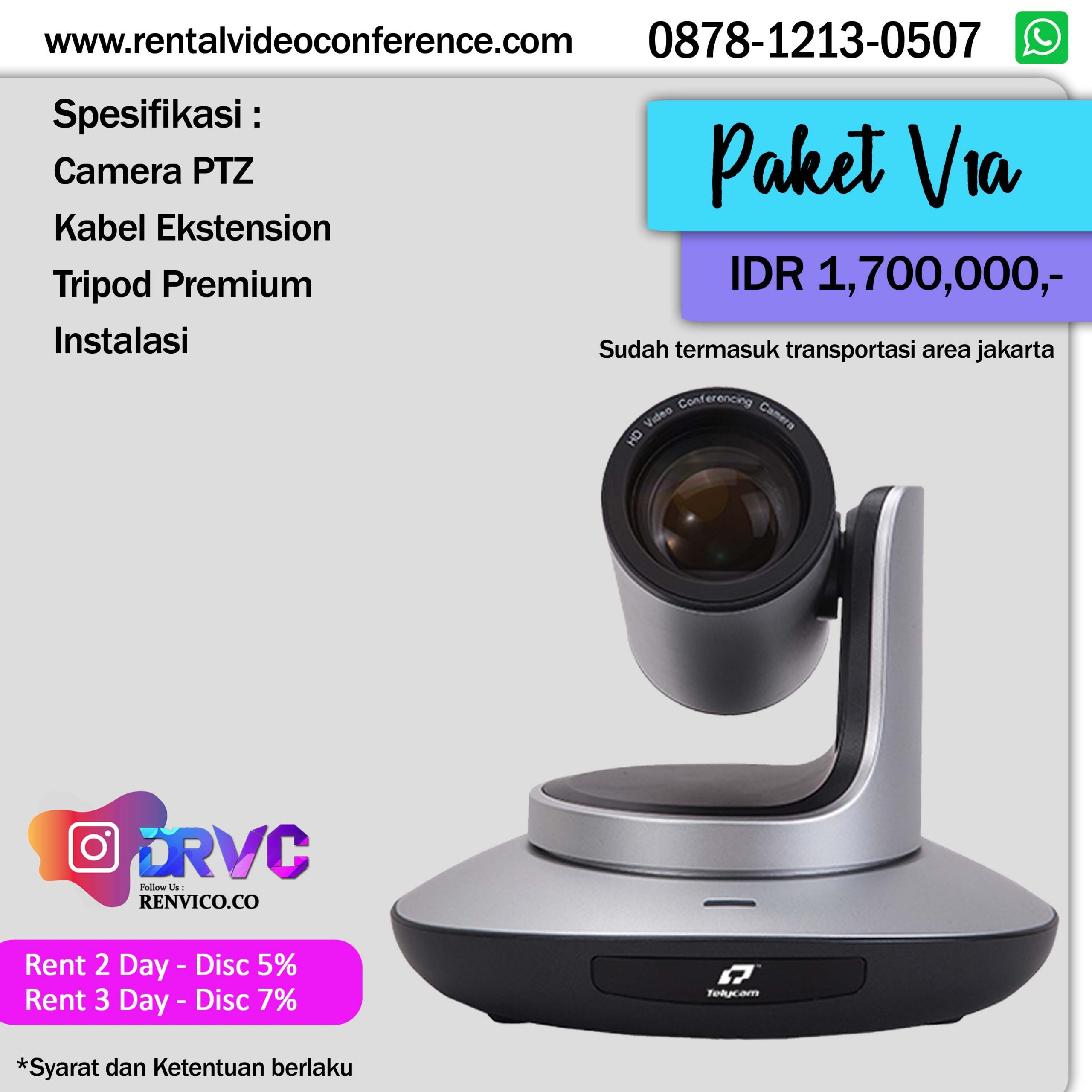 Rental Video Conference Zoom Live streaming
